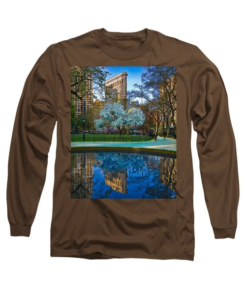 Spring In Madison Square Park Long Sleeve T-Shirt