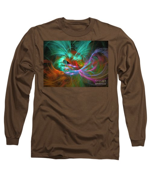 Spring Riot - Abstract Art Long Sleeve T-Shirt