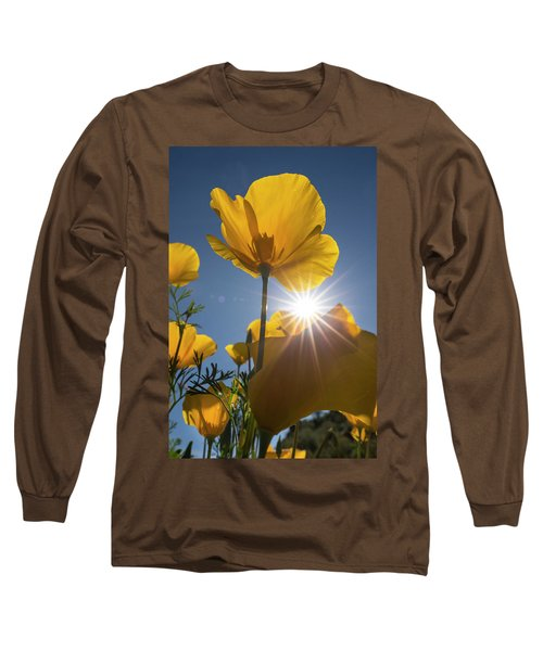 Spring Starburst Long Sleeve T-Shirt by Sue Cullumber