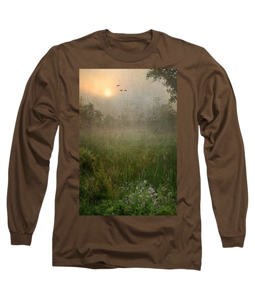 Spring Sunrise In The Valley Long Sleeve T-Shirt