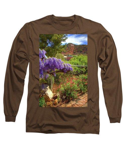 Springtime In Old Bisbee Arizona Long Sleeve T-Shirt