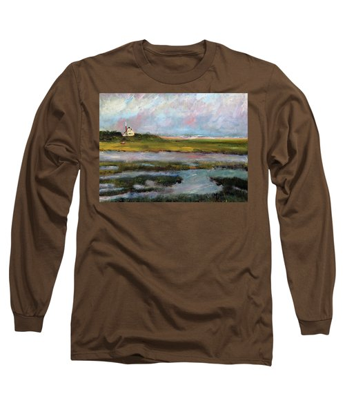 Springtime In The Marsh Long Sleeve T-Shirt by Michael Helfen