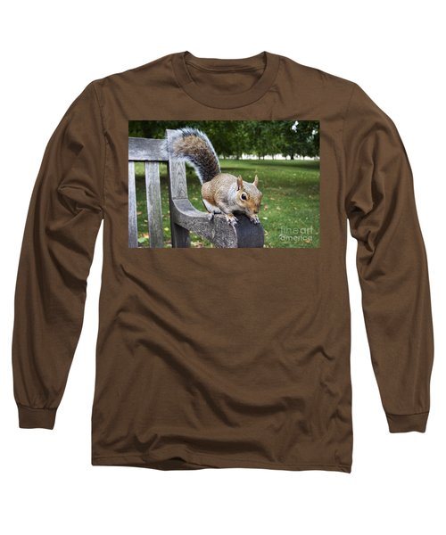 Squirrel Bench Long Sleeve T-Shirt