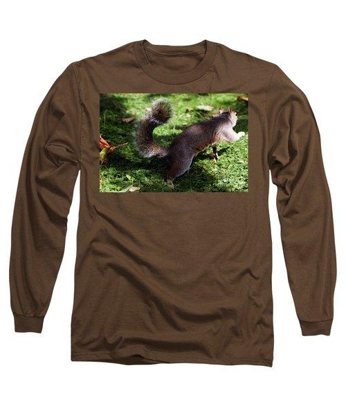 Squirrel Running Long Sleeve T-Shirt