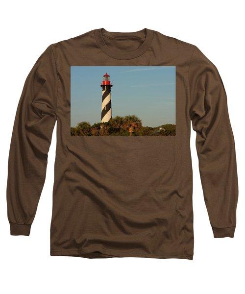 St. Augustine Lighthouse #3 Long Sleeve T-Shirt
