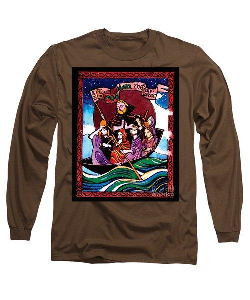 St. Brendan The Navigator - Mmbre Long Sleeve T-Shirt