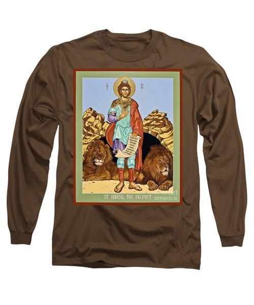 St. Daniel In The Lion's Den - Lwdld Long Sleeve T-Shirt