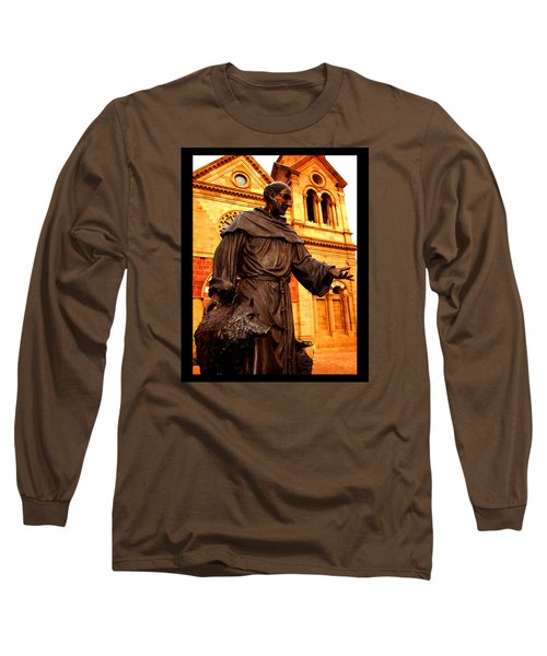Cathedral Basilica Of St. Francis Of Assisi Long Sleeve T-Shirt by Susanne Still