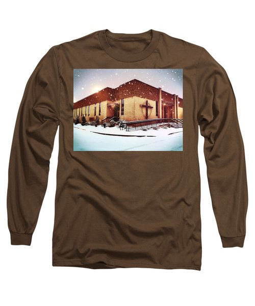 St. Isaac Jogues In The Snow Long Sleeve T-Shirt