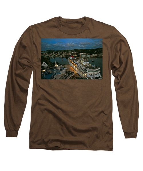 St. Lucia In The Evening Long Sleeve T-Shirt