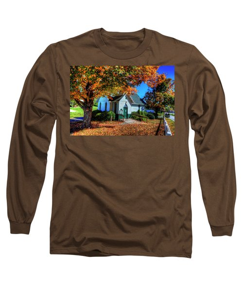 St Mary's Church Long Sleeve T-Shirt by Dale R Carlson