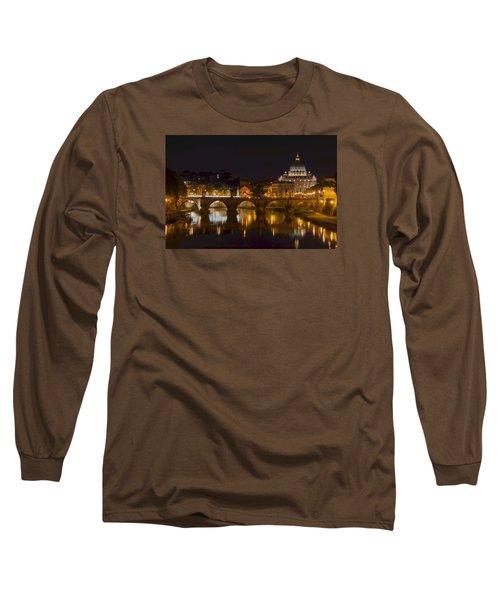 St. Peter's Basilica-655 Long Sleeve T-Shirt by Alex Ursache