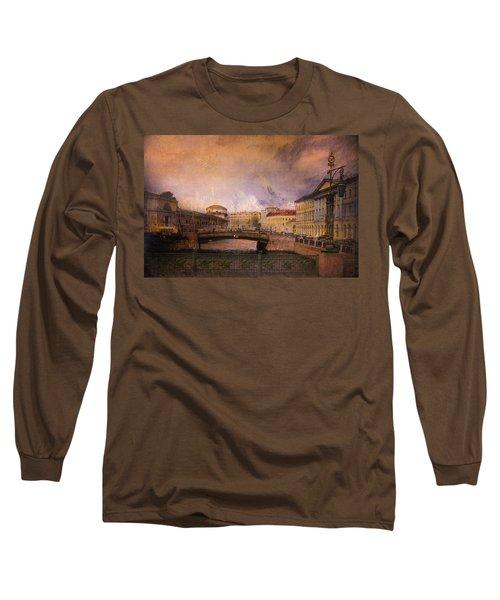 St Petersburg Canal Long Sleeve T-Shirt