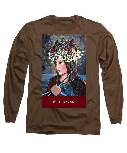 St. Philomena Long Sleeve T-Shirt