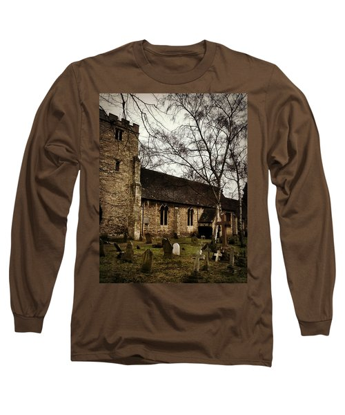 St. Thomas The Martyr Long Sleeve T-Shirt by Persephone Artworks