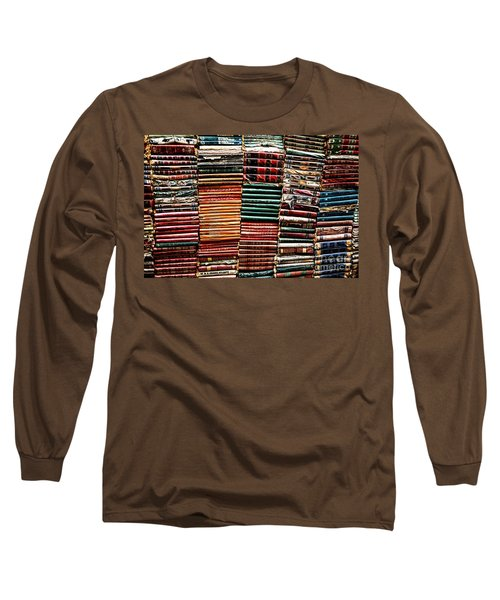 Stacks Of Books Long Sleeve T-Shirt