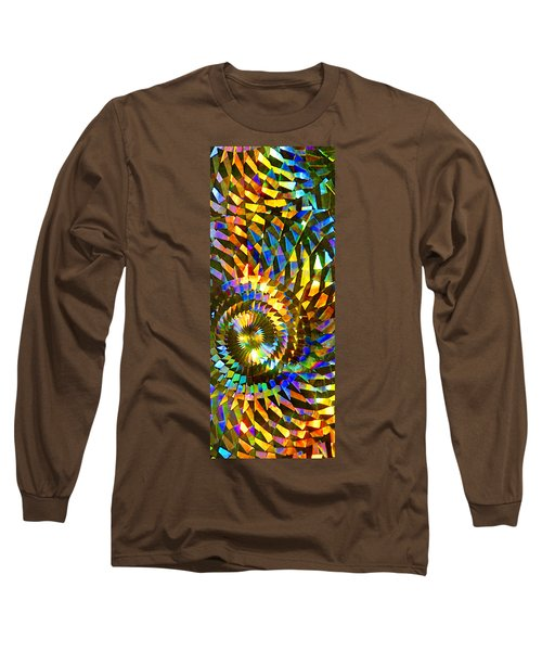 Stained Glass Fantasy 1 Long Sleeve T-Shirt by Francesa Miller