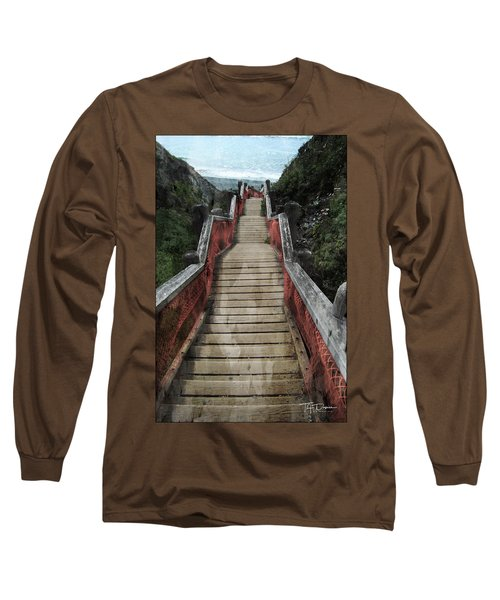 Stairs To Bliss Long Sleeve T-Shirt