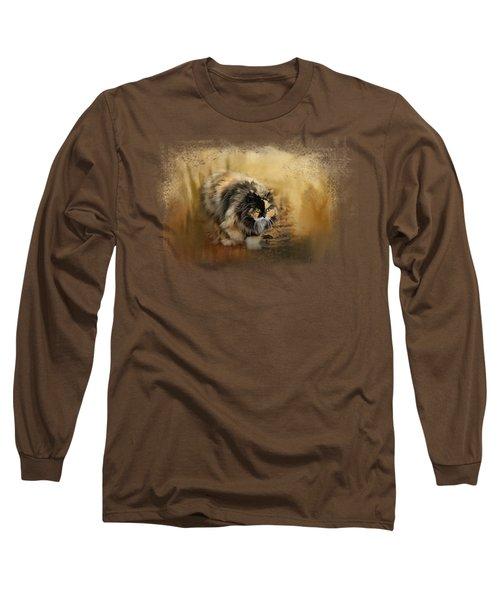 Stalking Autumn Long Sleeve T-Shirt by Jai Johnson