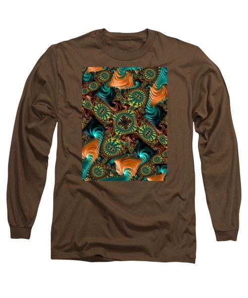 Long Sleeve T-Shirt featuring the photograph Star Of Satin by Ronda Broatch