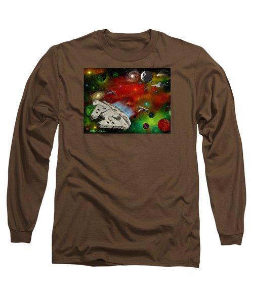 Star Wars Long Sleeve T-Shirt by Michael Rucker
