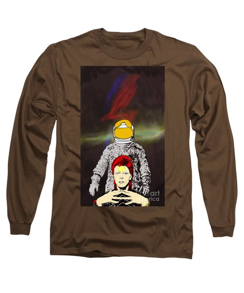 Starman Bowie Long Sleeve T-Shirt