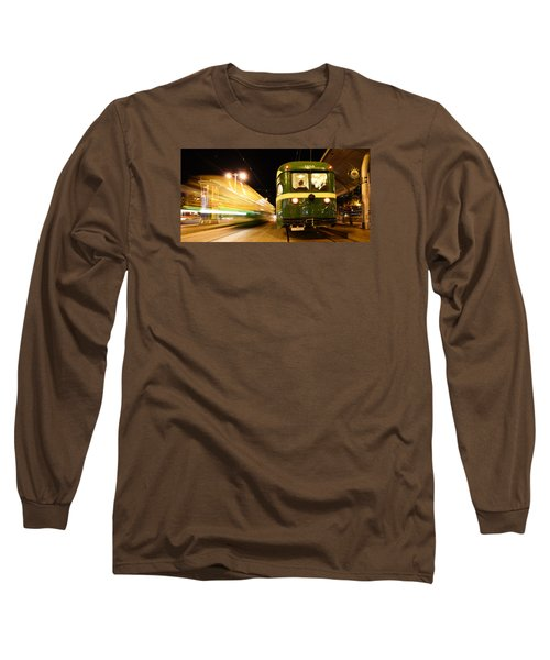 Long Sleeve T-Shirt featuring the photograph Stationary by Steve Siri