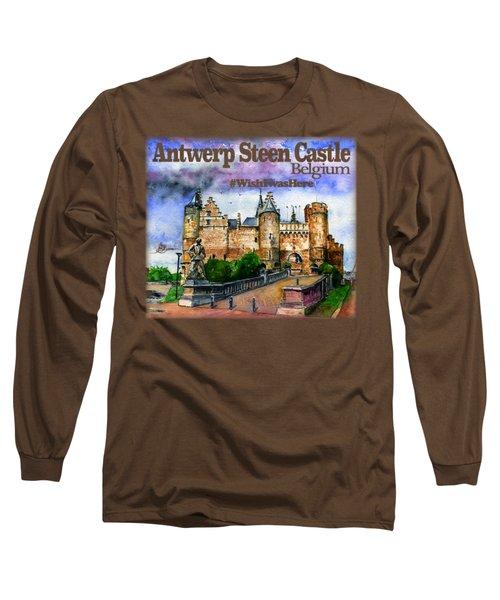 Steen Castle Antwerp Long Sleeve T-Shirt