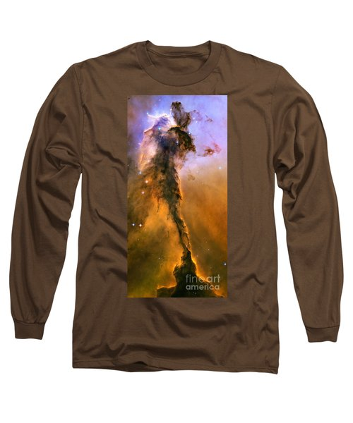 Stellar Spire In The Eagle Nebula Long Sleeve T-Shirt