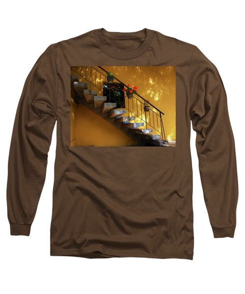 Steps To Tranquility  Long Sleeve T-Shirt