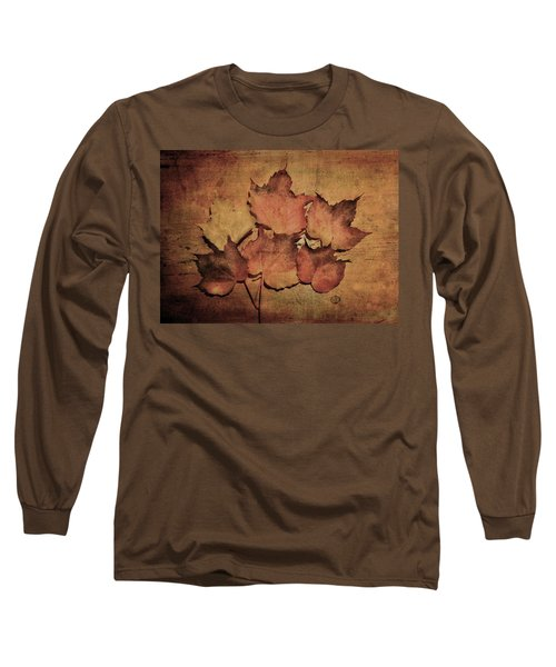 Still Life With Leaves Long Sleeve T-Shirt
