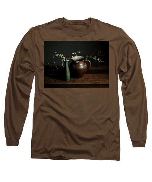 Still Life With Stoneware  Long Sleeve T-Shirt