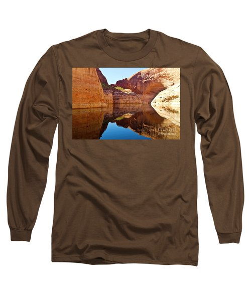 Still Waters Long Sleeve T-Shirt by Kathy McClure
