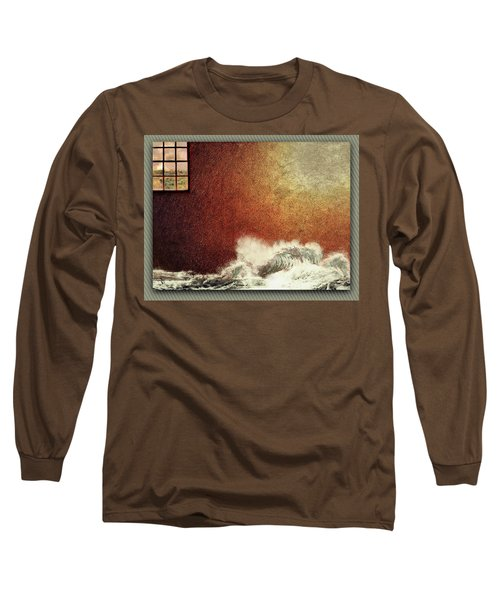 Storm Against The Walls Long Sleeve T-Shirt