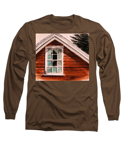 Storm Damage Long Sleeve T-Shirt by John Williams