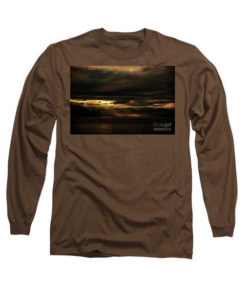 Storm Long Sleeve T-Shirt by Elaine Hunter