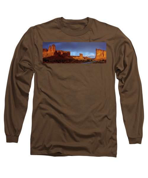 Long Sleeve T-Shirt featuring the photograph Stormy Desert by Chad Dutson
