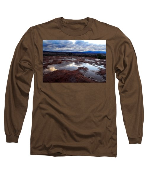 Long Sleeve T-Shirt featuring the photograph Stormy Sunrise by Harry Spitz