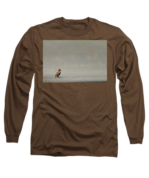 Story Of The Baby Chipping Sparrow 3 Of 10 Long Sleeve T-Shirt by Joni Eskridge