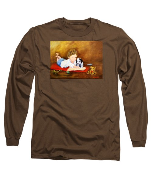 Storybook Time Long Sleeve T-Shirt by Loretta Luglio