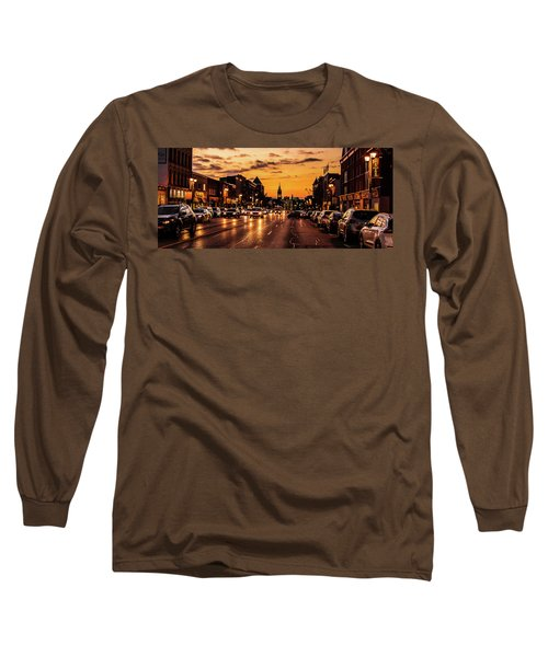 Stratford Main Drag At Dusk Long Sleeve T-Shirt