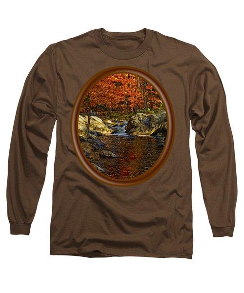 Stream In Autumn 58 Long Sleeve T-Shirt
