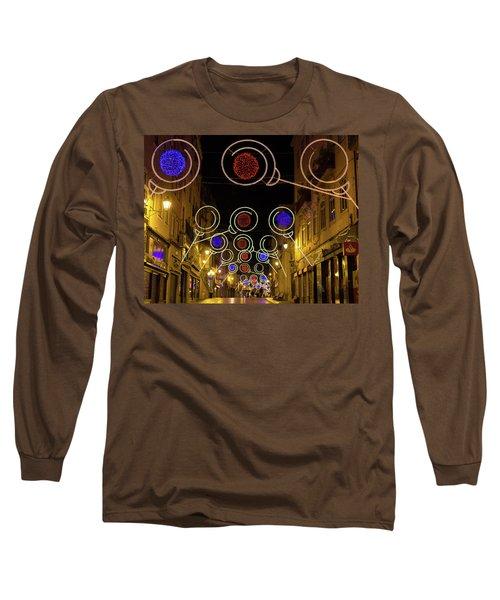 Street In Coimbra Long Sleeve T-Shirt