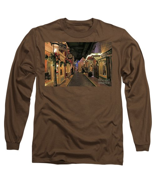 Streets Of Old Milwaukee Long Sleeve T-Shirt