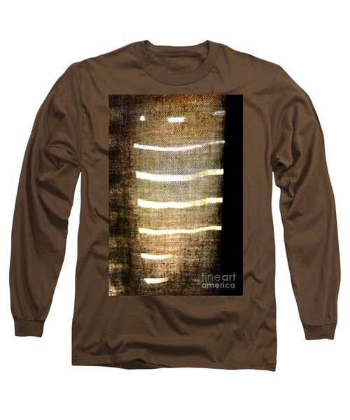 Stripes And Texture Long Sleeve T-Shirt