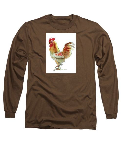 Long Sleeve T-Shirt featuring the painting Strut Your Stuff 4 by Kathy Braud