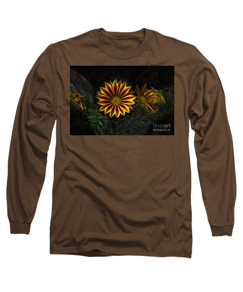 Stunning Flowers Abound Here Long Sleeve T-Shirt