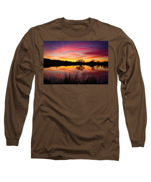 Stunning Pink Sunset Long Sleeve T-Shirt