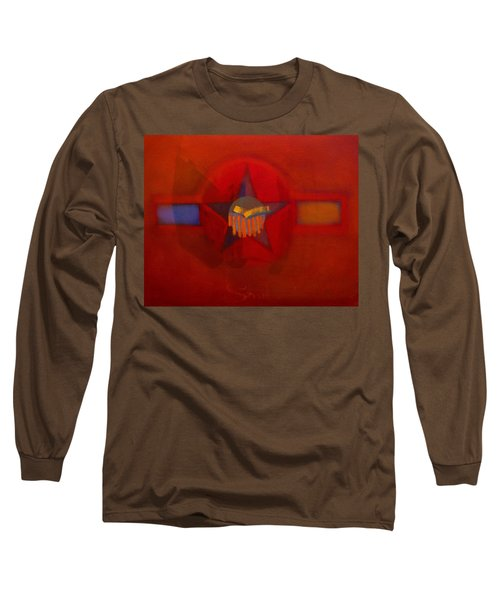 Long Sleeve T-Shirt featuring the painting Sub Decal by Charles Stuart