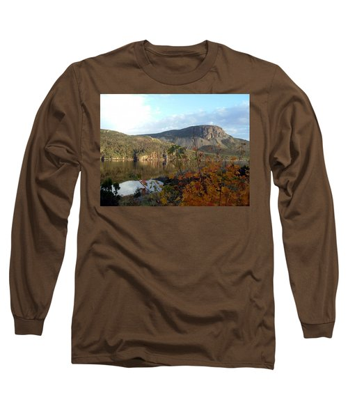 Sugarloaf Hill In Autumn Long Sleeve T-Shirt by Barbara Griffin